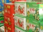 Video An ninh - Rùng mình gần 1 tấn trái cây Trung Quốc nhập lậu