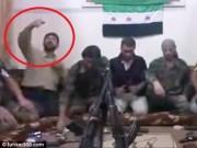 """Thế giới - Quân nổi dậy Syria """"tự sướng"""" nhầm với điện thoại gắn bom"""