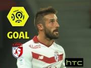 Bóng đá - Vô-lê chân trái ngẫu hứng lọt top 5 bàn đẹp V4 Ligue 1