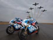 Thế giới xe - Aprillia RVS đọ tốc độ với dàn máy bay