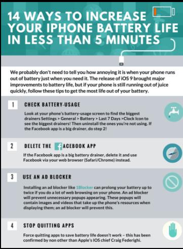 Bày cho bạn cách làm tăng tuổi thọ pin iPhone - ảnh 1