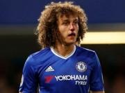 """Bóng đá - David Luiz vỡ mũi, """"bẽ mặt"""" ngày ra mắt Chelsea"""