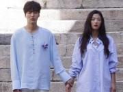 """Phim - Lộ hậu trường hành động của Lee Min Ho và """"máy bay bà già"""""""