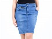Thời trang - Quần jeans chớp mắt biến thành váy ngắn sexy