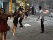 Tin tức trong ngày - Cháy quán karaoke: Chân dài mặt nhuốm đen lao ra từ biển lửa