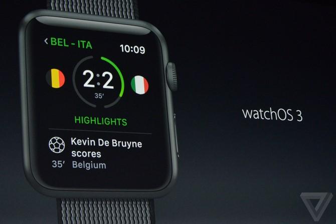 WatchOS 3 giúp Apple Watch nhanh hơn, kèm với các tính năng mới