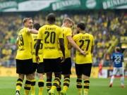 Bóng đá - Dortmund - Darmstadt: 1 thẻ đỏ và 6 bàn thắng
