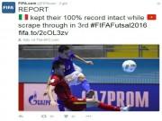 Bóng đá - Tiến xa ở World Cup, Futsal Việt Nam được FIFA khen ngợi