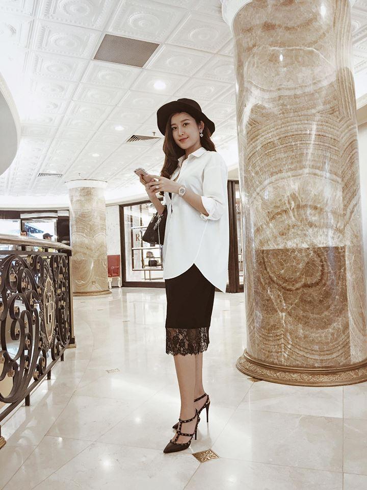 Thú vui mua sắm hàng hiệu chất ngất của Á hậu Huyền My - 18