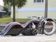 """Xe máy - Xe đạp - """"Chết lặng"""" với Harley Road King độ bánh Hubless không chấu"""