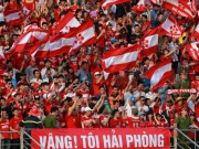 Bóng đá - V-league: CĐV Hải Phòng tràn xuống sân ăn mừng như vô địch