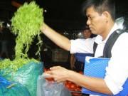 Thị trường - Tiêu dùng - Truy tìm người ngâm rau muống bào với hóa chất độc
