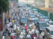 Tin tức trong ngày - HN đề xuất cấm xe máy ngoại tỉnh vào thành phố theo giờ