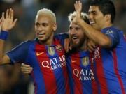 Bóng đá - Barca: 17 bàn/7 trận, bộ ba MSN chờ vượt mọi giới hạn