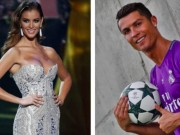 """Bóng đá - """"Sát thủ tình trường"""" Ronaldo lộ bạn gái hoa hậu"""