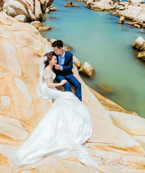 Ảnh cưới lãng mạn của cặp đôi thân nhau từ thuở cấp hai - 4
