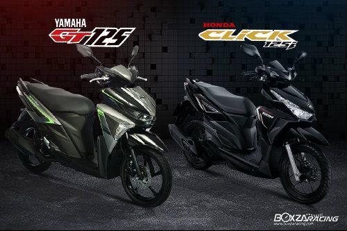 Nên chọn mua Yamaha GT125 hay Honda Click 125i?