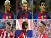 Bóng đá - Atletico cũng có tam tấu khủng đấu MSN của Barca