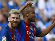 Bóng đá - Sao Barca cứa lòng đỉnh như Messi top 5 vòng 4 Liga