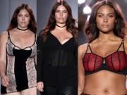 Thời trang - Show thời trang nội y gây sốc với dàn mẫu béo