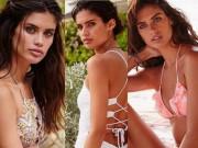 Người mẫu - Hoa hậu - Khó rời mắt trước vẻ bốc lửa của thiên thần nội y