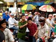 """An ninh Xã hội - Cô gái dùng mũ bảo hiểm """"hạ gục"""" tên cướp ở Sài Gòn"""