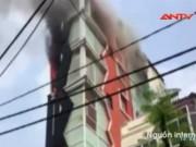 Video An ninh - Clip: Cháy kinh hoàng ở quán karaoke 7 tầng Hải Phòng