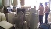 Thâm nhập kho tập kết điện máy thải về TP.HCM