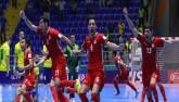 Falcao lập siêu phẩm, futsal Brazil vẫn bị loại sốc