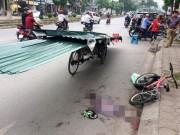 Tin tức Việt Nam - Bé trai tử vong vì bị xe chở tôn cứa cổ