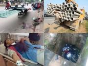 Tin tức trong ngày - Những cái chết oan uổng vì chướng ngại vật trên đường