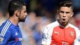 """Arsenal đấu Chelsea và nỗi sợ bị Costa """"tra tấn"""""""