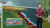 Dự báo thời tiết VTV 23/9: Miền Trung tiếp tục mưa dông