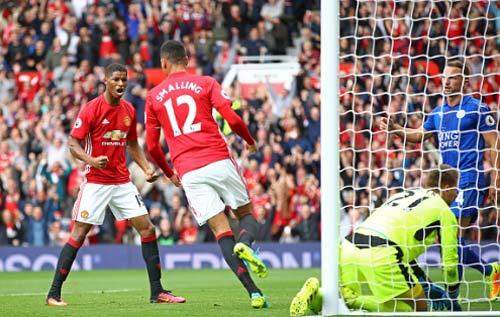 MU 4 - 1 Leicester City(Vòng 6 - La Liga 2016/17)