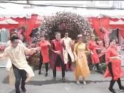 Bạn trẻ - Cuộc sống - Cặp đôi Sài thành nhảy tưng bừng trong đám cưới