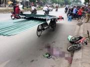 Tin tức trong ngày - Tạm giữ người lái xích lô chở tôn khiến bé trai bị cứa cổ