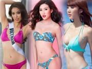 Thời trang - Hình thể bikini đẹp xuất sắc của 22 chân dài Vbiz