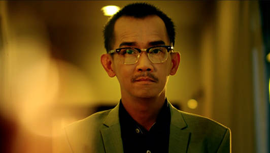 Minh Thuận cười bí hiểm trong phim điện ảnh cuối cùng