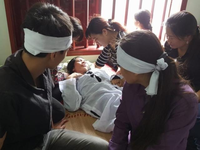 Tang thương đám tang 4 bà cháu trong thảm án Quảng Ninh