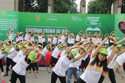 """""""Sống vì trái tim chiến binh"""" – giảm nguy cơ trẻ hóa bệnh lí tim mạch tại Việt Nam - ảnh 3"""