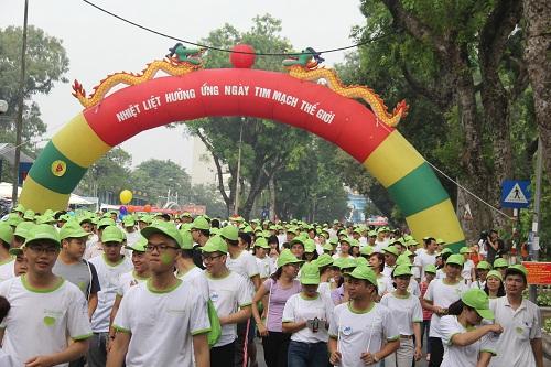 """""""Sống vì trái tim chiến binh"""" – giảm nguy cơ trẻ hóa bệnh lí tim mạch tại Việt Nam - ảnh 6"""