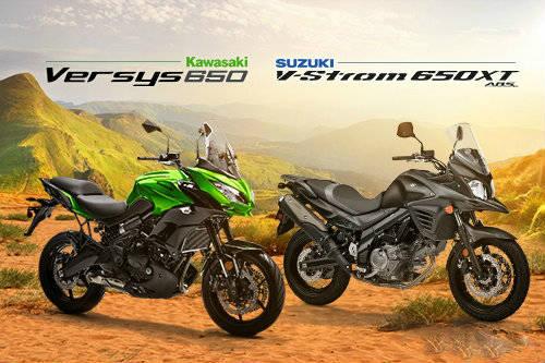 Nên mua Kawasaki Versys 650 hay Suzuki V-Strom 650XT?