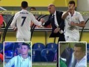 Bóng đá - Bị thay giữa chừng, Ronaldo không thèm nhìn Zidane