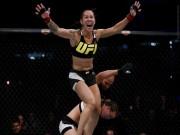 """Thể thao - UFC: Đả nữ """"đáng sợ"""" đánh đối thủ vỡ mặt, đổ máu"""