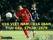 Bóng đá - Chi tiết U16 Việt Nam - U16 Iran: Phung phí cơ hội hiếm (KT)