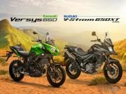 Thế giới xe - Nên mua Kawasaki Versys 650 hay Suzuki V-Strom 650XT?