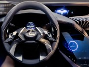 Tư vấn - Lexus UX concept có nội thất ba chiều cực chất