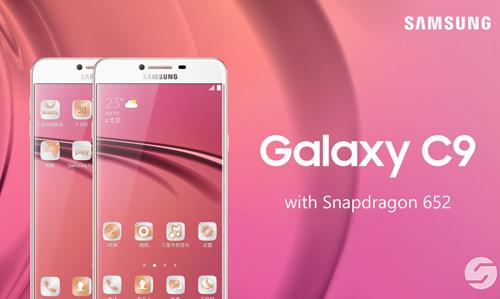 Lộ ảnh Samsung Galaxy C9 dùng RAM 6GB - 1