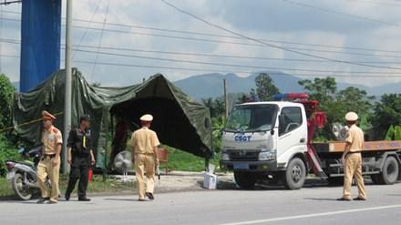 Chốt chặn mọi cửa ngõ Quảng Ninh để truy bắt kẻ thủ ác