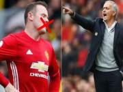"""Bóng đá - MU: Đá kém, Rooney bị Mourinho """"cấm khẩu"""""""